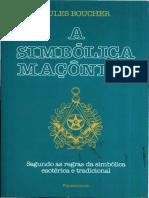 A Simbolica Maçonica, Jules Boucher.pdf