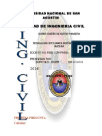 Resolucion Primer Examen de Dieño y Madera