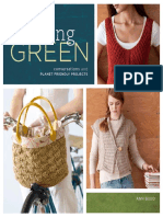 knitting GREEN