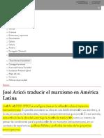 Jose_ Arico_ Traducir El Marxismo en Ame_rica Latina Nueva Sociedad