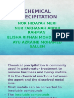 Chemical Precipitation Group 3