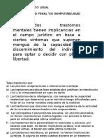 Implicancia Medico Legal