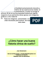 DR. SANTAMARÍA_Cómo Hacer Una Buena Historia de Sueño