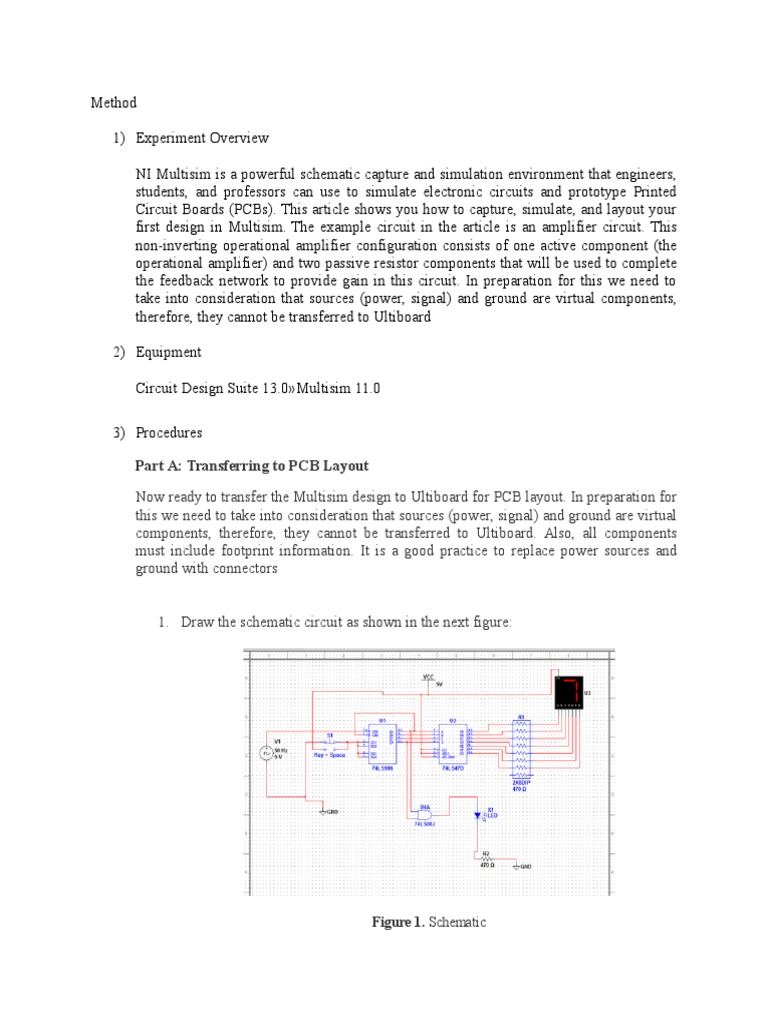 Ulti Board Printed Circuit Electronic Circuits Figure 2 The Components Layout Of This