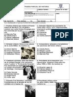 Prueba de 6º Desarrollo y Democratización 29 de Octubre