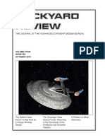 Dockyard Review,The Journal of the Advanced Starship Desing Bureau,Volume 4, Issue 6-October 2372
