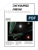 Dockyard Review,The Journal of the Advanced Starship Desing Bureau,Volume 2, Issue 3-October 2305