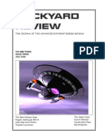 Dockyard Review,The Journal of the Advanced Starship Desing Bureau,Volume 3, Issue 3-July 2358