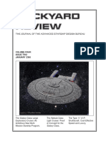 Dockyard Review,The Journal of the Advanced Starship Desing Bureau,Volume 4, Issue 2-January 2365