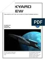 Dockyard Review,The Journal of the Advanced Starship Desing Bureau,Volume 4, Issue 9-January 2380