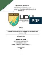 LIDERAZGO Y GESTION DE SERVICIOS DE LA EMPRESA FELIX HUANUCO - 2016.docx