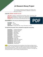 4_Landmark Research Essay Project