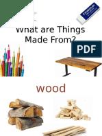 vocabulary of materials