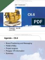 Course Caterpillar c6 6 Engines Acert Technology Benefits