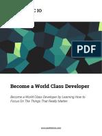 Become a World Class Developer