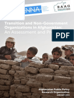 2014 01 01 - Transition and NGOs in Afghanistan