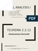 Real Analysis 1