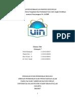 makalah pengembangan profesi keguruan