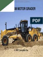 Operation and Maintenance Manual Motor Grader CAT 16M | Tire | Leak