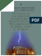 Denzinger Bergoglio 2016 Azul