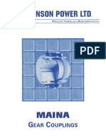 Johnson Power - Maina Gear Coupling Catalog