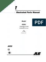 Jlg 450aj Parts Manual