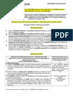 2016 Tribunales Oposiciones Invalidaciones y Penalizaciones