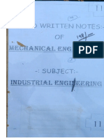 ndustrial Engineering