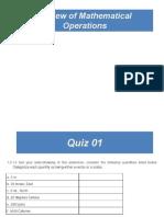 Engineering Mechanics _Math review
