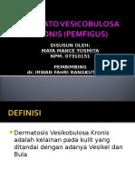 Chronic Blistering- Edit kulit maya.ppt