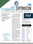 FAFEN Survey Report on Perception of Corruption