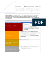 Civil Rights Movement Guided Notes