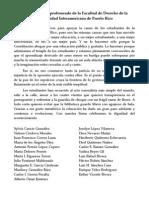 Declaración del profesorado UIPR en apoyo a la huelga UPR
