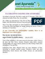 Ulcerative Colitis Treatment in Ayurveda eBook