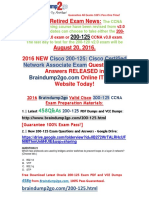 [2016.6 NEW]Braindump2go 200-125 Exam Dumps 21-30