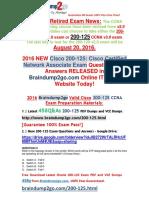 [2016.6 NEW]Braindump2go 200-125 VCE Dumps 41-50