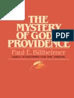 The Mystery of God's Providence - Paul E Billheimer