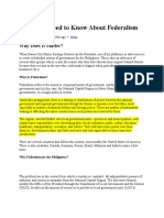 What You Need to Know About Federalism