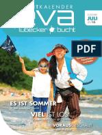 EVA Juli 2016 - Events in der Lübecker Bucht