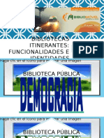Bibliotecas Itinerantes. Funcionalidades e Indentidades