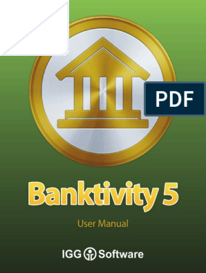 Banktivity 5 Manual | Financial Transaction | Icon (Computing)
