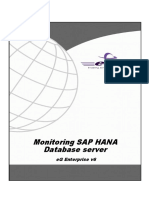 Monitoring SAP HANA Database Server