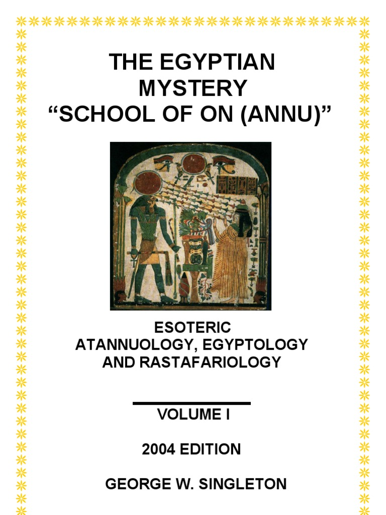 Ancient Egyptian Mystery School Of On Annu Ofe God Download