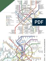 Mapa Metro Moscu