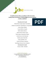 Informe Contenciones CBE