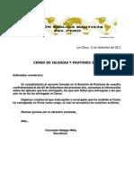 Censo de Iglesias y Pastores 2010iglesias Que Han Entregado El[1]