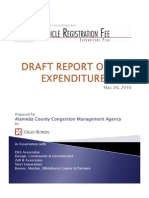 ACCMA Draft Report VRF Expenditure Plan