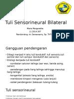 Tuli Sensorineural Pada Pasien Geriatrik (Presbikusis) [Autosaved]