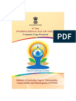 Common Yoga Booklet - English