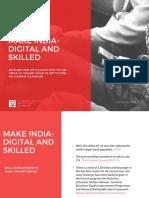 Make India- Digital and Skilled